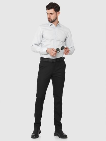 Light Green Formal Full Sleeves Shirt