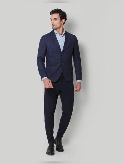 Blue Check Blazer