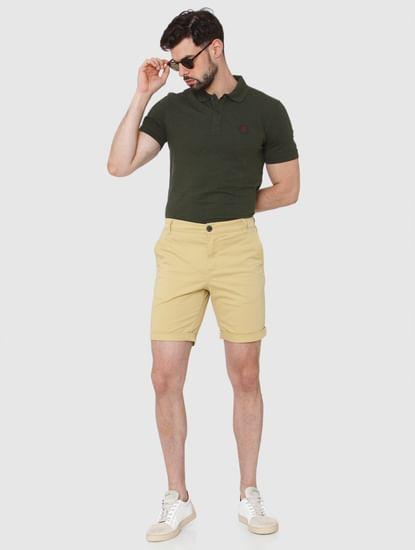 Ochre Chino Shorts