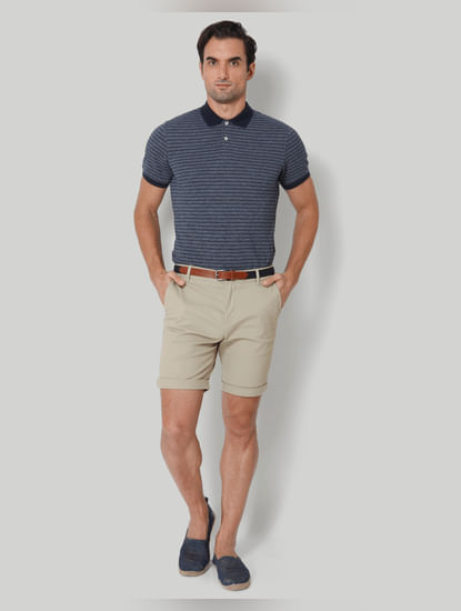 Grey Chino Shorts