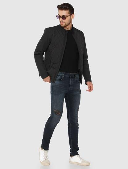 Black Quilt Jacket