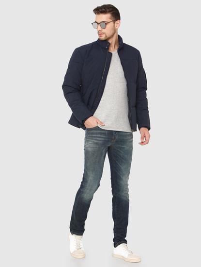 Blue Quilt Jacket
