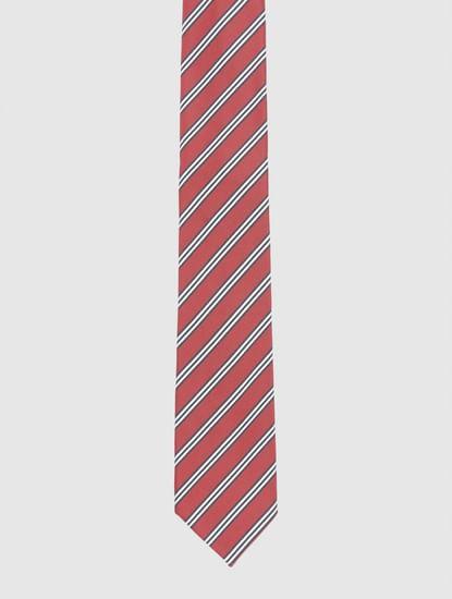 Red Striped Tie