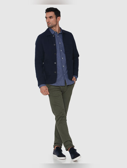 Blue Causal Jacket