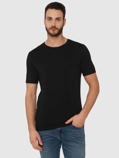 Black Crew Neck T-Shirt