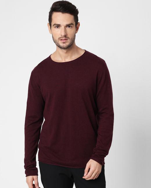 Burgundy Pullover