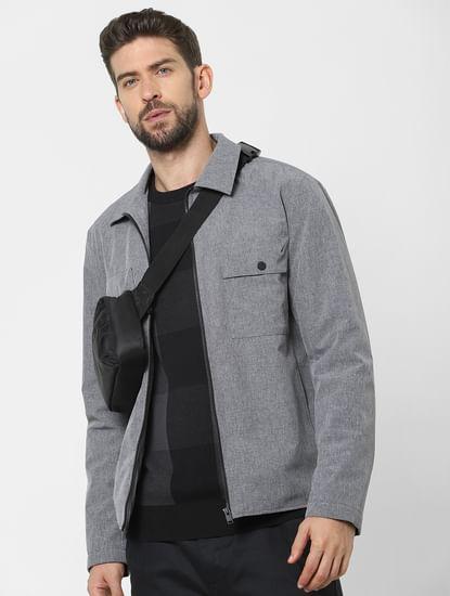 Black Check Organic Cotton Pullover
