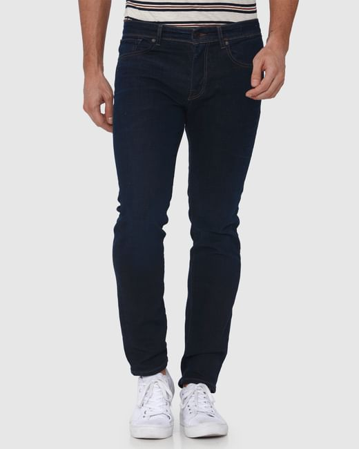 Dark Blue Leon Slim Fit Jeans