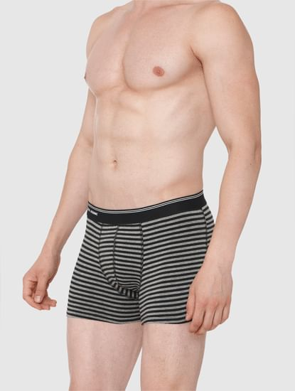 Grey Striped Trunks