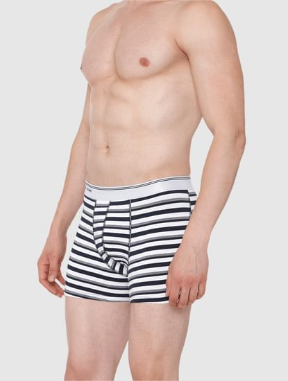 White Striped Trunks