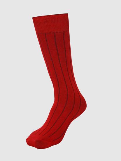 Pack Of Three Mid Calf Length Socks