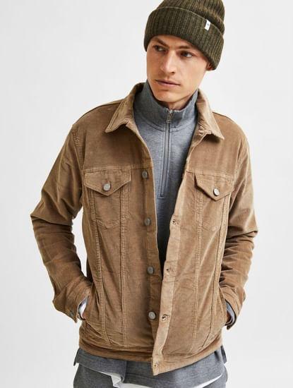 Beige Corduroy Jacket