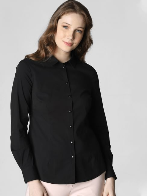 Black Formal Shirt