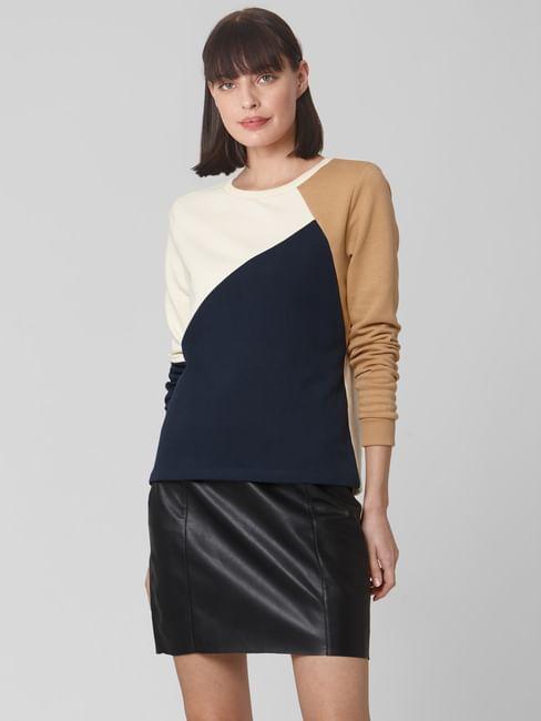 Off-White Colourblocked Sweatshirt