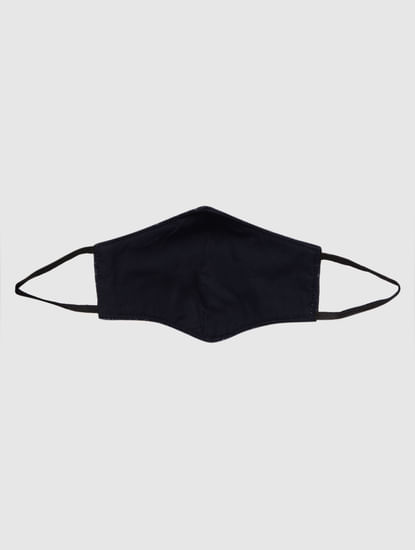 Blue Check Lightweight Denim 3PLY Anti-Bacterial Mask