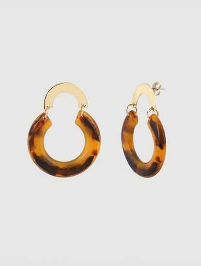 Gold Colour Hoops