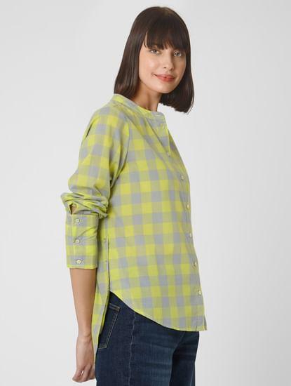 Yellow Check Shirt