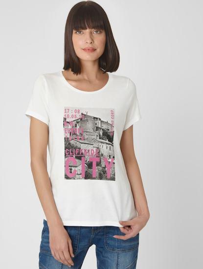 White City Scape Graphic T-shirt