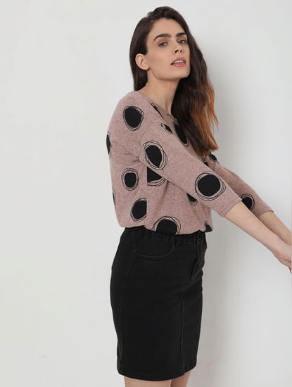 Pink Dotted Top