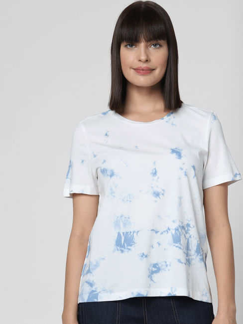 White Dyed T-shirt