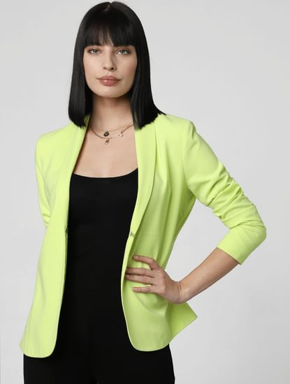 Green Tailored Blazer