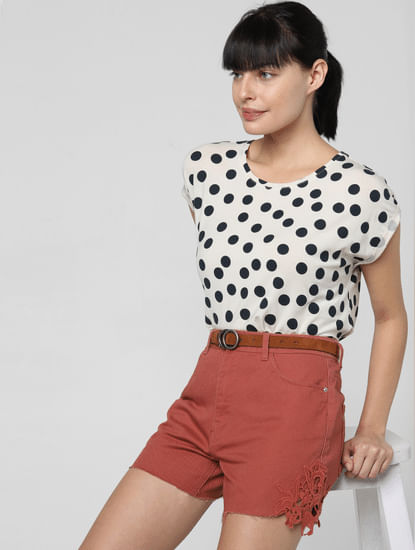 Off-White Polka Dot T-shirt