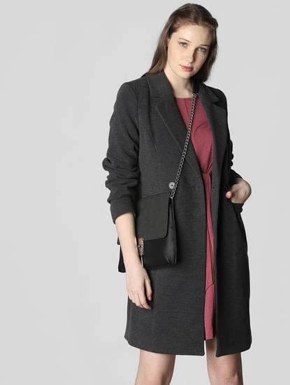 Dark Grey Long Coat
