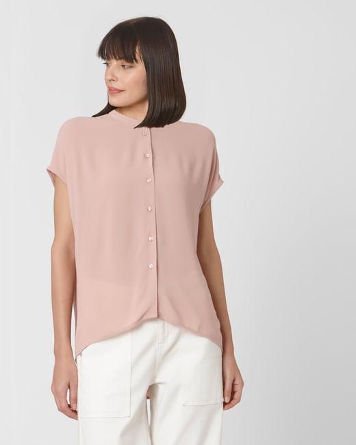 Light Pink Button Up Shirt