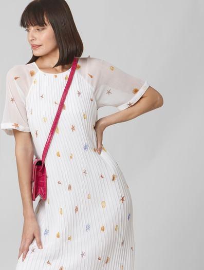 Snow White All Over Print Shift Dress