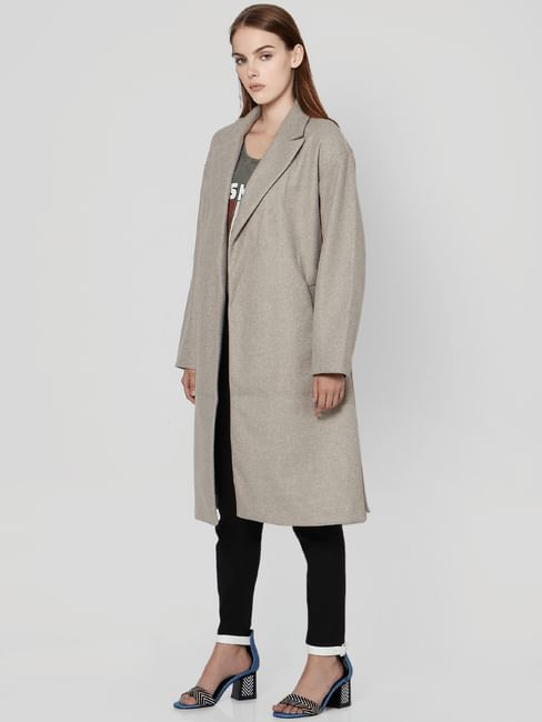 Silver Mink Long Coat