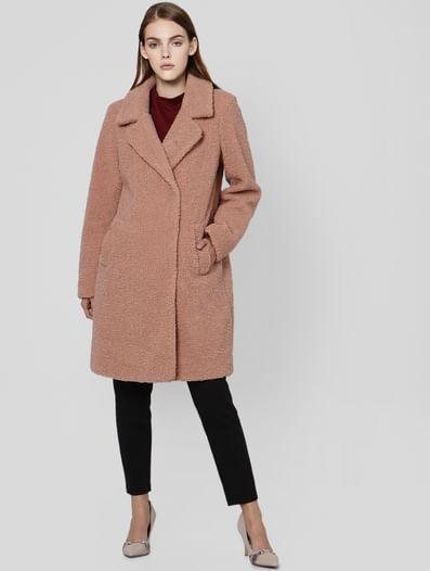 Mahogany Rose Teddy Coat