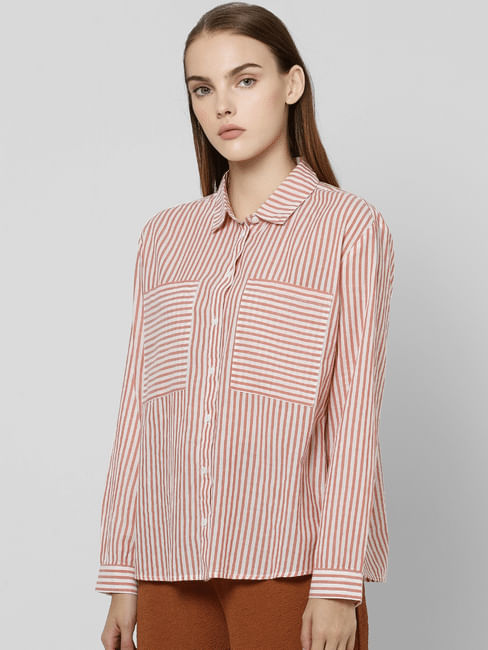 Snow White Striped Shirt
