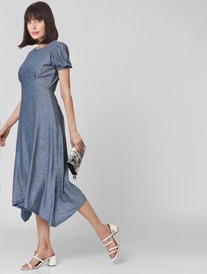 Blue Midi Dress