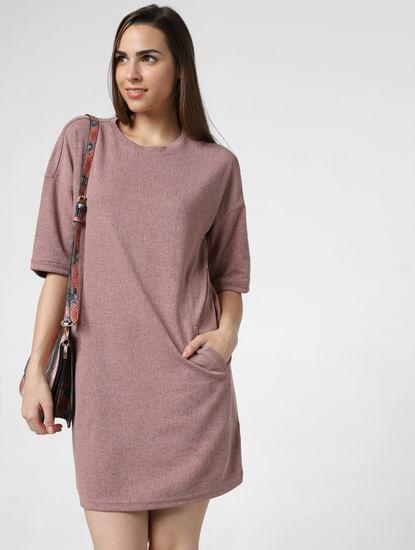 Brown T-Shirt Dress