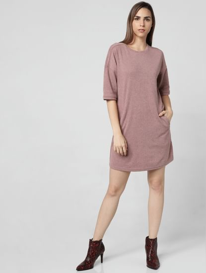 Brown T-Shirt Dress