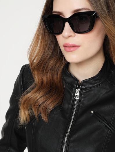 Black Square Sunglasses