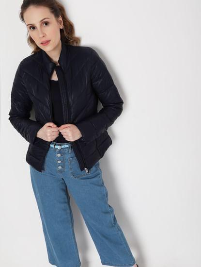 Blue Puffer Winter Jacket