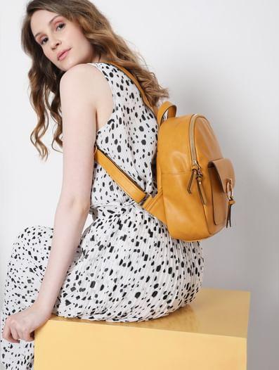 Mustard Backpack