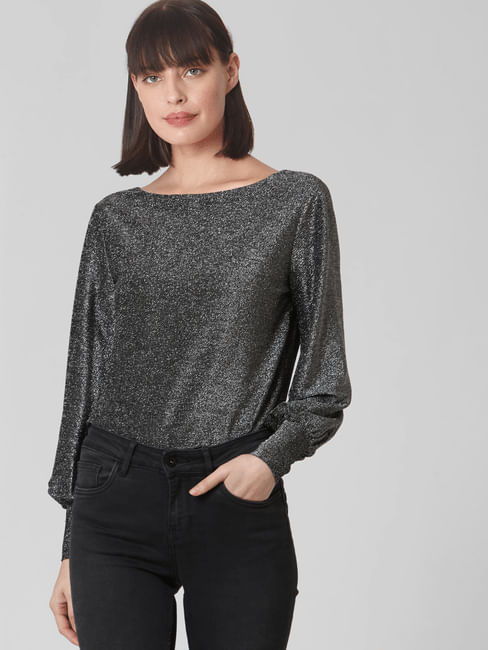 Silver Shimmer Bodysuit