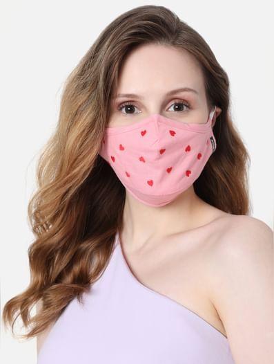 Pink & Blue Reusable Masks - Pack of 2