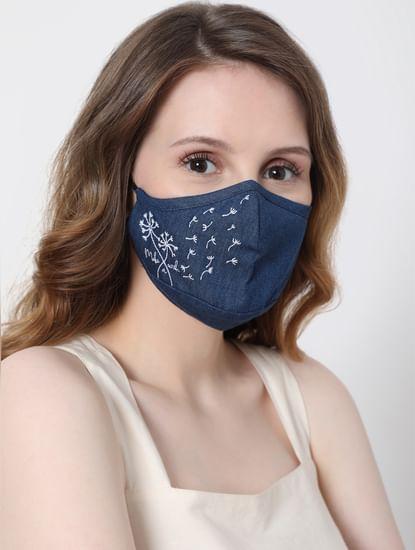 Blue Denim Masks - Pack of 2