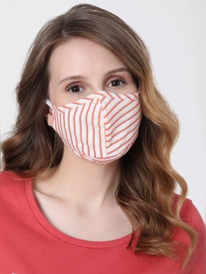 Blue & White Reusable Masks - Pack of 2