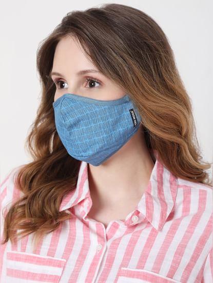 Blue Denim Reusable Masks - Pack of 2