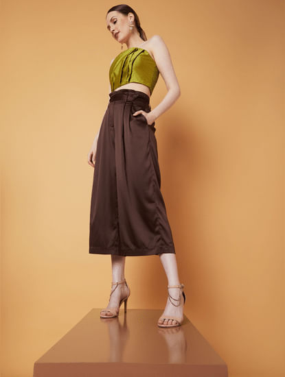 MARQUEE Brown Culottes