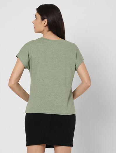 Green Overlap Lounge T-shirt