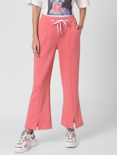 Pink Flared Lounge Pants