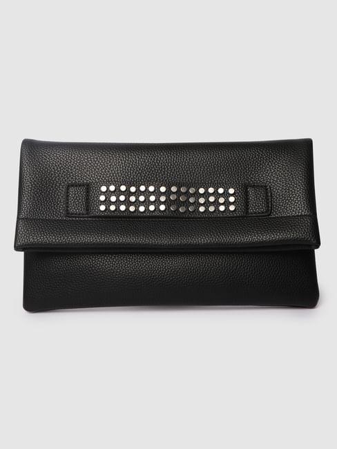 Black Studded Sling Bag
