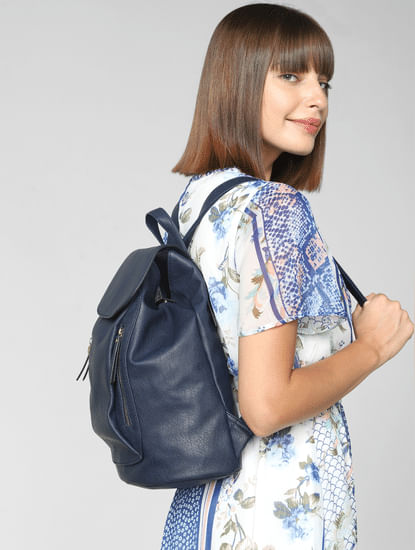 Navy Blue Backpack