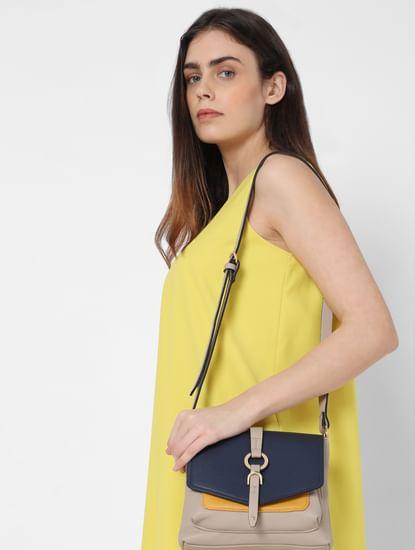 Blue 3 Tone Sling Bag