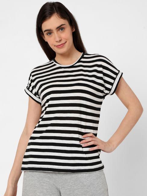 Black Breton Striped T-shirt